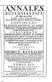 Annales Ecclesiastici: Volume 14