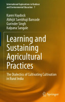 Learning and Sustaining Agricultural Practices
