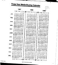 Print Media Editorial Calendars PDF