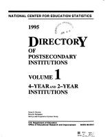 Directory of Postsecondary Institutions PDF
