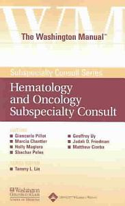 The Washington Manual Hematology and Oncology Subspecialty Consult PDF