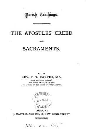 Parish teachings PDF