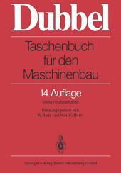 Taschenbuch für den Maschinenbau: Ausgabe 13