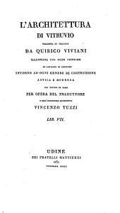 L'architettura di Vitruvio: Volumi 7-8