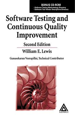 Software Testing and Continuous Quality Improvement PDF