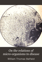 On the relations of micro organisms to disease PDF
