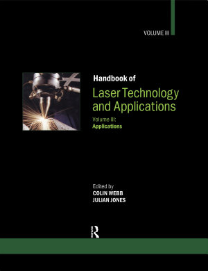 Handbook of Laser Technology and Applications PDF