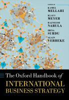 The Oxford Handbook of International Business Strategy PDF