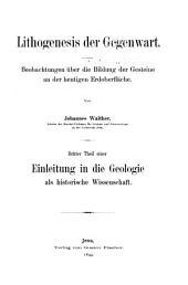 Einleitung in die geologie als historische wissenschaft: Beobachtungen über die bildung der gesteine und ihrer organischen einschlüsse, Teil 3