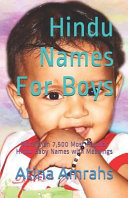 Hindu Names for Boys  More Than 7 500 Most Popular Hindu Baby Names with Meanings PDF