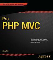 Pro PHP MVC PDF