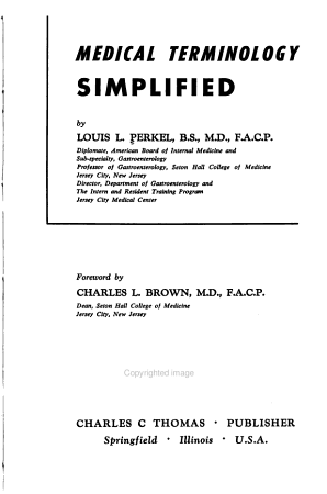Medical Terminology Simplified PDF