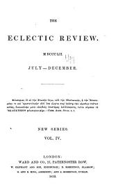 The Eclectic Review: Volume 4; Volume 96