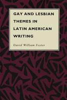 Gay and Lesbian Themes in Latin American Writing PDF