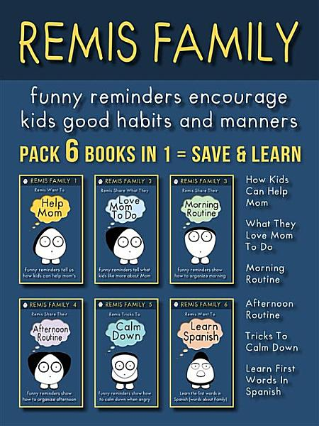 Remis Family Pack 6 Books In 1