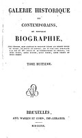 Galerie historique des contemporaines  ou Nouvelle biographie PDF