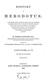 History of Herodotus: Volume 3