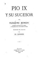 Pio IX y su sucesor