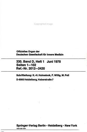 Zentralblatt Gastroenterologie Stoffwechsel Endokrinologie PDF