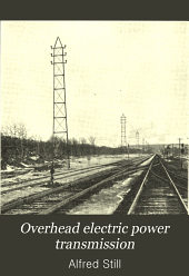 Overhead electric power transmission: principles and calculations
