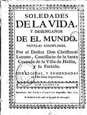Soledades de la vida y desengaños de el mundo: novelas exemplares