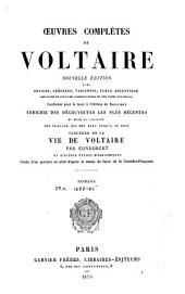 Œuvres complètes de Voltaire: Romans. 1879