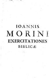Exercitationum biblicarum de hebraei graecique textus sinceritate libri duo