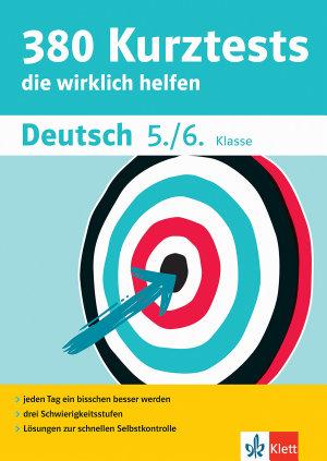Klett 380 Kurztests Deutsch 5  6  Klasse PDF