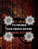 Download Flowers Coloring Book Book