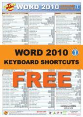 Word 2010 Keyboard Shortcuts 1: Free