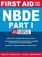 First Aid for the NBDE Part 1  Third Edition PDF