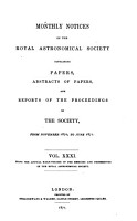 Monthly Notices of the Royal Astronomical Society PDF
