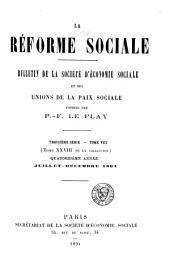 La Réforme sociale: Volume28
