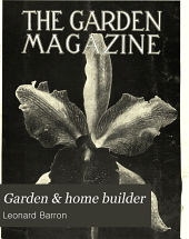 Garden and Home Builder: Volume 3