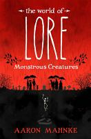 The World of Lore  Volume 1  Monstrous Creatures PDF