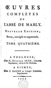 Oeuvres complètes: Volume 4