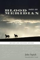 Notes on Blood Meridian PDF