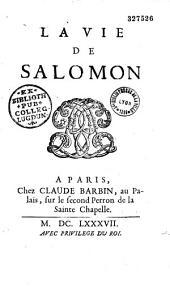 Vie de Salomon