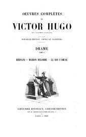 Oeuvres complètes de Victor Hugo ...: Volume2,Numéro2