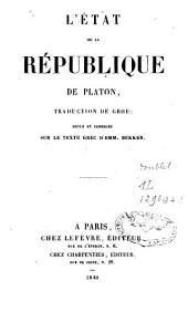 L'Etat ou la république