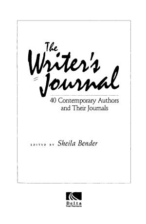 The Writer s Journal PDF