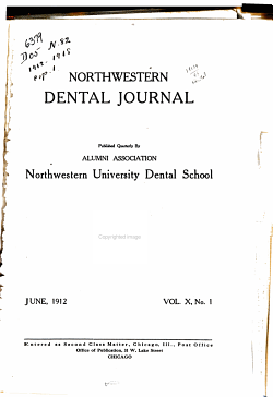 Northwestern Dental Journal PDF