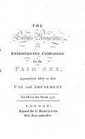 The Lady s Magazine Or Entertaining Companion for the Fair Sex PDF