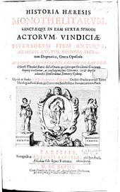 Historia haeresis Monothelitarum