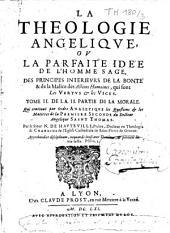 La théologie angélique ou la parfaite idée de l'homme sage