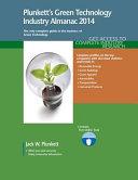 Plunkett's Green Technology Industry Almanac 2014