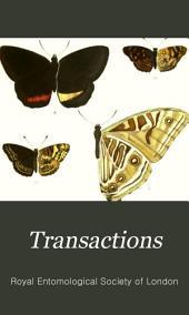 Transactions of the Royal Entomological Society of London: Volume 28; Volume 1880