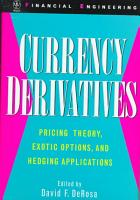 Currency Derivatives PDF