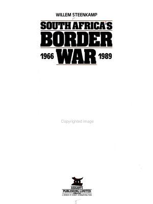 South Africa s Border War  1966 1989