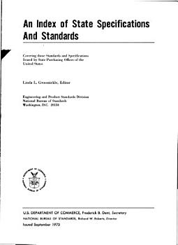 An Index of State Specifications and Standards PDF
